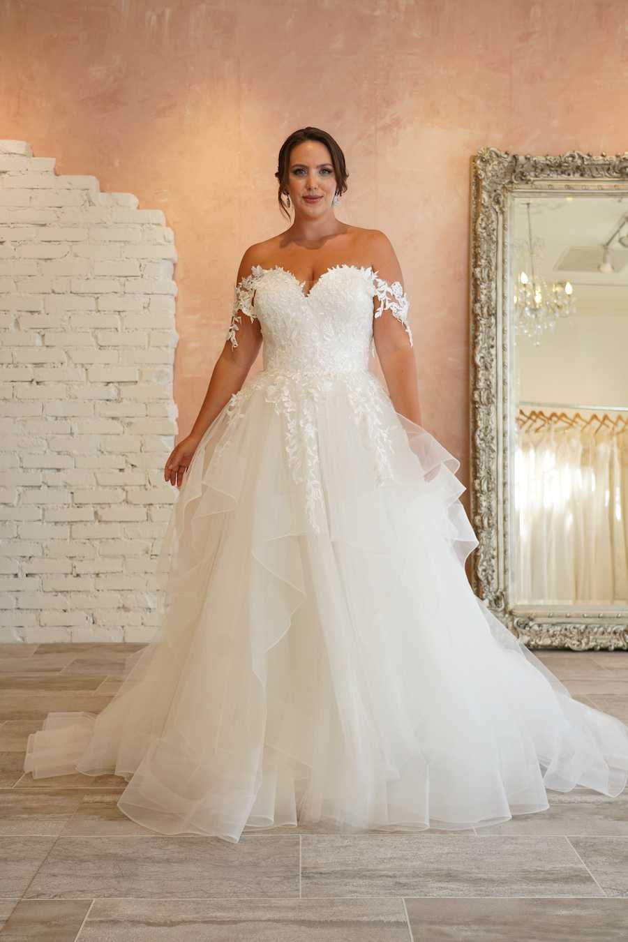 Plus Size A-Line Wedding Dress