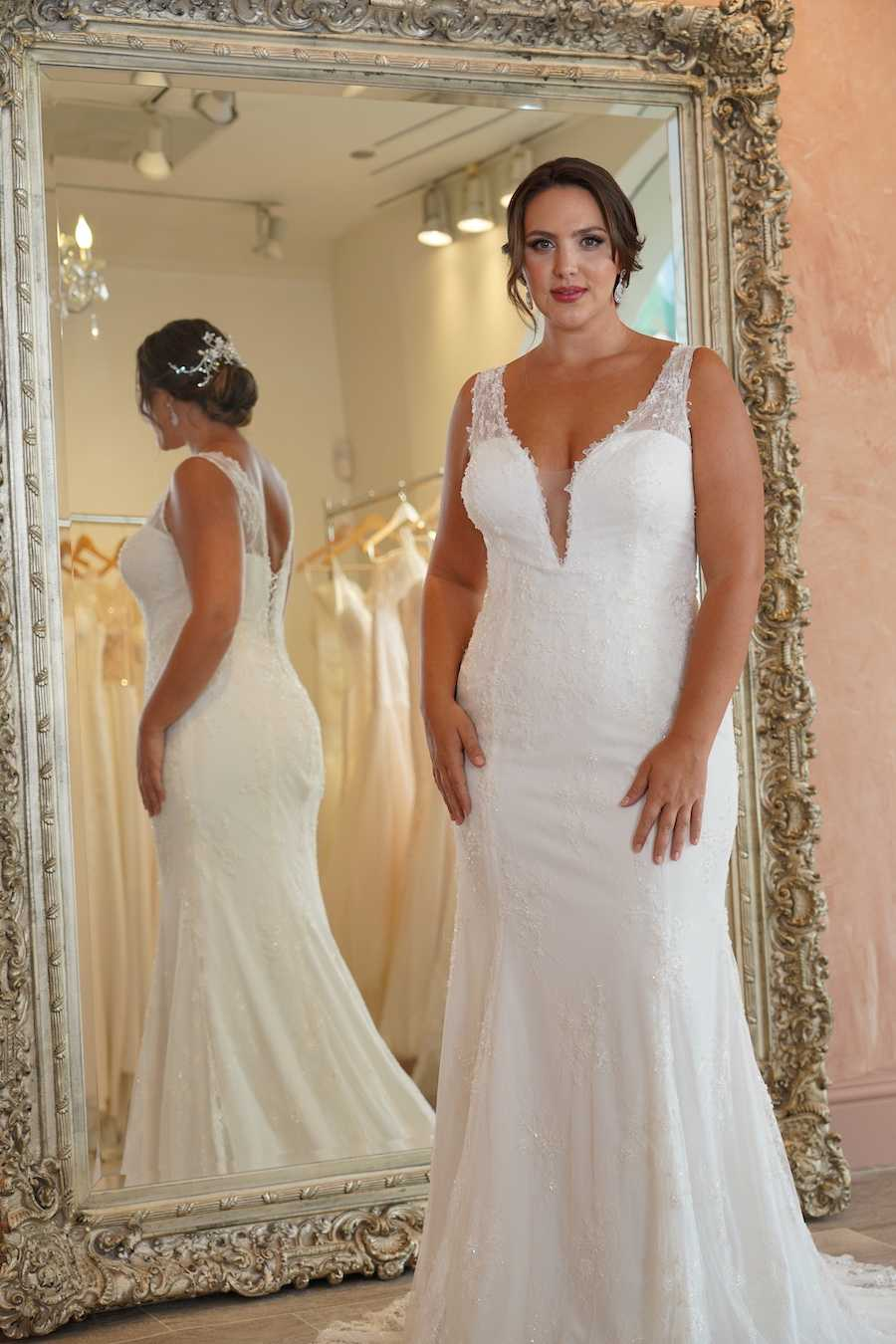 Plus Size Casual Wedding Dress