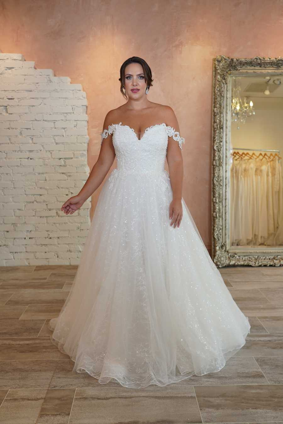Plus Size Vintage Wedding Dress