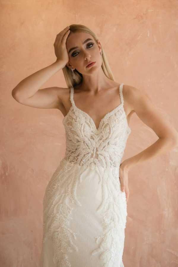 Beaded Wedding Dress - Bridal Stores In San Diego