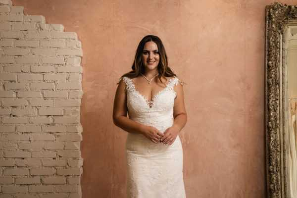 The importance of not waiting to shop for a plus-sized wedding dress