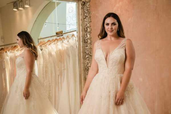 Plus Size Wedding Dresses for Brides of San Diego
